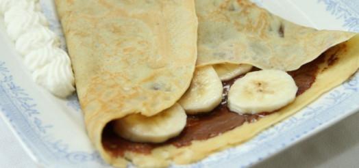 Pandekager med Nutella