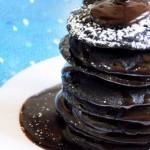 Amerikanske pandekager med chokolade